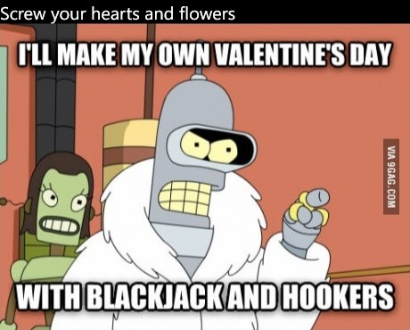 Screw your hearts and flowers